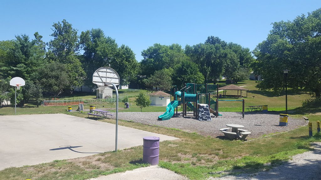 Located in the Fort Purdy neighborhood at 1100 North 20th Street, Johnson Park has been newly renovated by local community members. It sits on two and a half acres of land and contains new playground equipment, half-size and full-size basketballs courts, restrooms and two covered shelter facilities.
