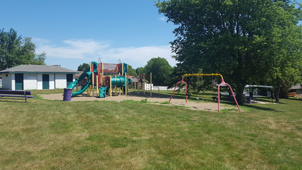 Tuckers Park is a beautiful, hidden gem that sits on one and a half acres of land at 2210 9th Avenue North. A great neighborhood park that features playground equipment, swing set, covered shelter facility, restrooms and a new full-size basketball court.