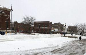 Snowy Uptown Denison
